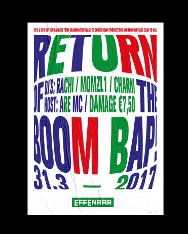 Return of the Boombap / Poster design